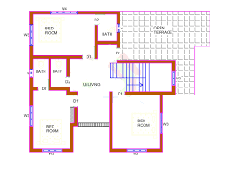 1300 Square Foot House Plans 2226 Sq Ft House Design With Kerala House Plans