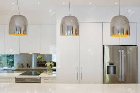 kitchen island bench contemporary pendant lights hanging over kitchen island bench