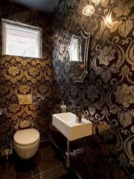 wallpaper designs for bathrooms stunning wallpaper designs for bathrooms h52 about interior design