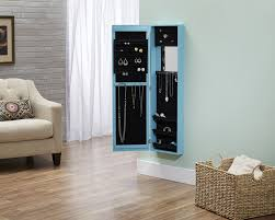 furniture charming over the door jewelry armoire for home