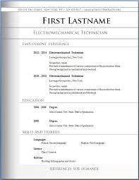 downloadable resume templates word word resume template template