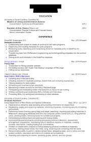 Librarian Resume Archives Hiring Librarians