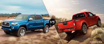 frontier nissan 2015 2016 toyota tacoma vs 2015 nissan frontier