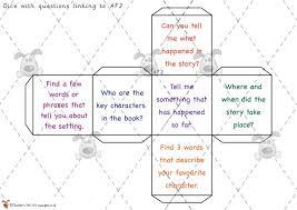 printable question dice teacher s pet reading question dice premium printable classroom