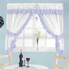 Designer Kitchen Curtains Modern Blue Kitchen Curtains U2013 Quicua Com