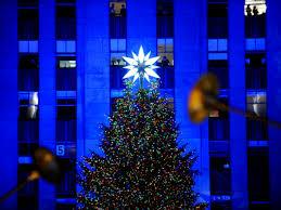 rockefeller center christmas tree lighting nbc new york