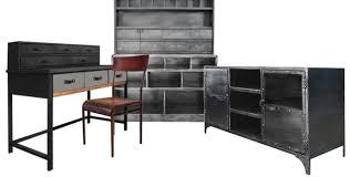 bureau industriel pas cher meubles industriels design à prix cassé mon coin design