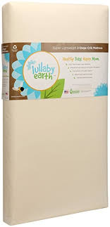 Baby Crib Mattress Support Lullaby Earth Healthy Support Crib Mattress 2 Stage
