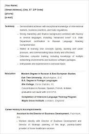 sample resume templates for college students nice design ideas