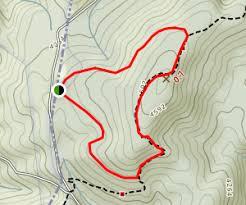 max patch loop via appalachian trail carolina maps 240
