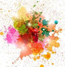 Paint Colorful - images of colorful paint splats vector sc