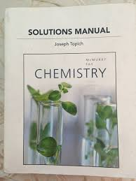 chemistry in the laboratory 7th edition solution manual solutions manual for chemistry by joseph topich sixth edition