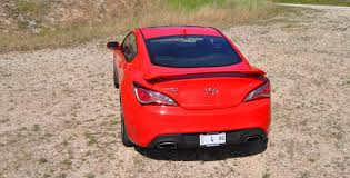 hyundai genesis road test 2014 hyundai genesis coupe 3 8l v6 r spec road test review of