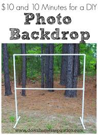 diy photo booth frame 10 and 10 minutes for a diy photo backdrop home inspiration