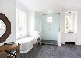 Herringbone Bathroom Floor by Arts U0026 Crafts Bathrooms Pictures Ideas U0026 Tips From Hgtv Hgtv