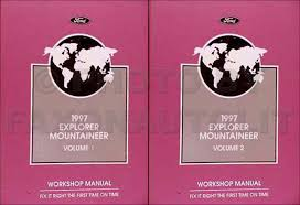 1997 ford engine emissions diagnosis manual original