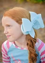 large hair bows hair bows large grosgrain hair bow with clip