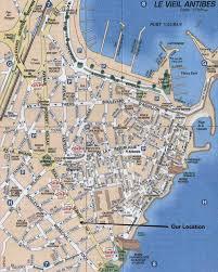 map of antibes antibes map citiestips