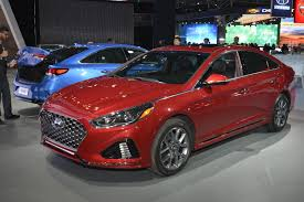 first look refreshed 2018 hyundai sonata