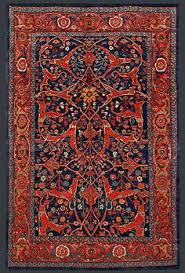 antique persian heriz rug persian rug features and patterns
