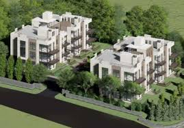 Modern Multi Family House Plans Arc Bashes Proposed U201cmodern Sleek U201d Multi Family Next To Town Hall