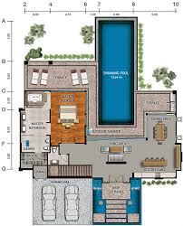 Famous House Floor Plans House And Site Layouts U0026 Master Plan Vista Del Mar