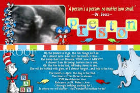 dr seuss baby shower invitations dr seuss baby name blocks ultrasound shower invitations