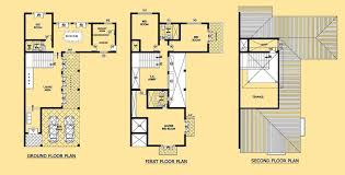 three story home plans house plan designs in sri lanka