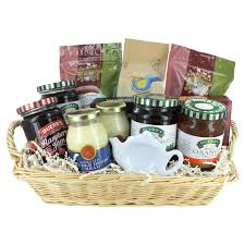 deluxe afternoon tea gift basket