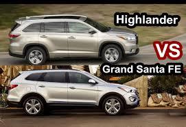 lexus rx 350 vs toyota highlander benim otomobilim 2015 toyota highlander vs 2015 hyundai grand