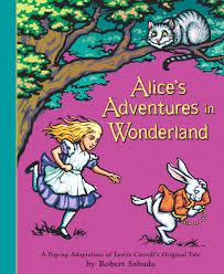 robert sabuda s adventures in book by lewis carroll robert