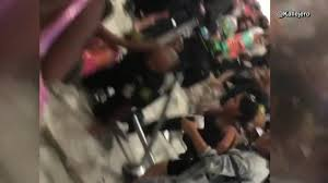 spirit airlines cancels flight passenger brawl breaks out