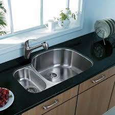 Stylish Double Basin Stainless Steel Sink Kitchen Sinks At The - Double sink for kitchen