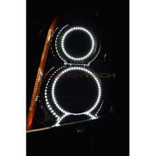 cadillac srx headlights cadillac srx white led halo headlight kit 2004 2009