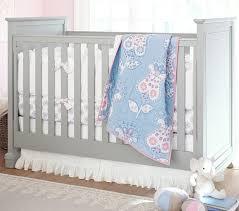 Pottery Barn Ruffle Crib Skirt Chelsea Medallion Baby Bedding Set Pottery Barn Kids