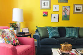 house tour a color splashed home in d c apartment therapy