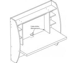 Designer Floating Desk Floating Desk With Storage Black Prepac Canadian Furniture