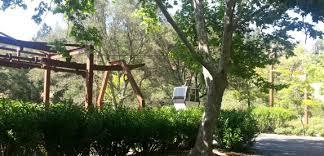 Backyard Ski Lift Spliced Wire Through The Grape Vine Crane Institute Of America