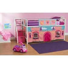 Girls Pink Bed by Girls Bunk Beds On Hayneedle Loft Beds For Girls