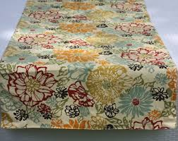 extra wide table runners floral table runner reversible table runner marsala and