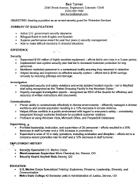 security officer resume security officer resume sle resume sle