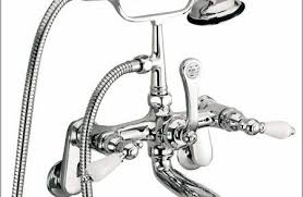 Clawfoot Tub Faucet With Diverter Concrete Shower Floor No Tile For Sale Design Troo
