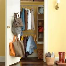 hall coat closet organization home design ideas
