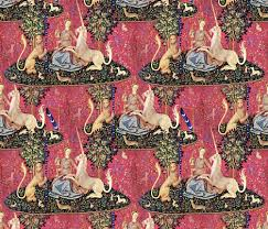 the the unicorn tapestry fabric peacoquettedesigns