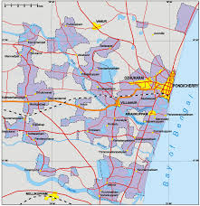 Map Of India Cities Map Of India Showing Pondicherry You Can See A Map Of Many
