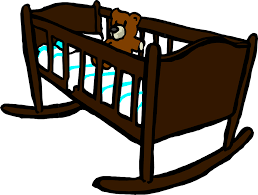 free vector graphic cradle crib baby teddy wooden free