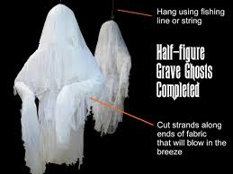 halloween decoration how to make human size ghosts how tos diy