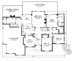 Large Bungalow Floor Plans House Plan 97329 At Familyhomeplans Com