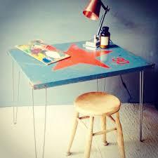 industrial hairpin leg desk industrial vintage metal hairpin leg desk kitchen table cafe bar