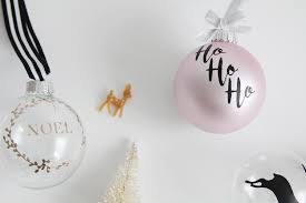 handmade holiday diy ornaments with cricut free cut files a